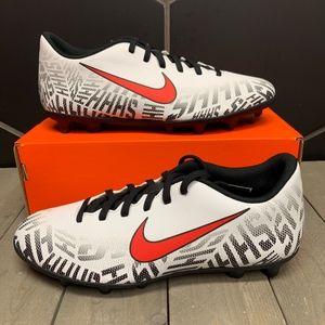 Nike Vapor 12 Club Neymar JR FG/MG White Black